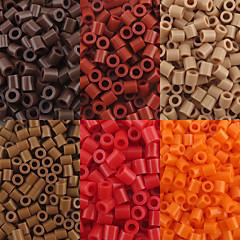aproximativ 500pcs / sac de 5 mm margele Perler fuziona margele margele HAMA safty eva materiale pentru copii (asortate b1-b15)
