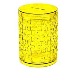 tanie Gry i puzzle-Zabawki 3D Puzzle Kryształowe puzzle Okrągły Psy Wieża Konik Niedźwiedź 3D Tworzywa sztuczne Żelazo Dla obu płci Prezent