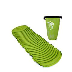 baratos -Almofada de Dormir Á Prova de Humidade Ultra Leve (UL) Inflável Confortável Flanela para Acampar e Caminhar Todas as Estações
