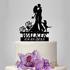 cheap Cake Toppers-Cake Topper Classic Theme / People / Wedding Classic Couple Plastic Wedding / Anniversary with 1 pcs Poly Bag