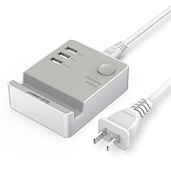 USB-laturi UGREEN 3 Portit Työpöydän latausasema Switch (es) Telakka Universaali Latausadapteri