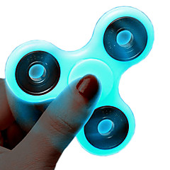Fidget spinner -stressilelu hand Spinner Hyrrä Lelut Lelut Tri-Spinner Metalli luminescent EDCStressiä ja ahdistusta Relief Focus Toy
