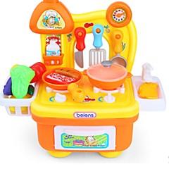 Tue so als ob du spielst Spielzeug-Küchen-Sets Spielzeugautos Spielzeuge Ente friut Jungen Stücke