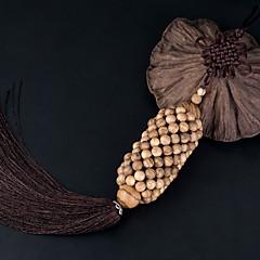 DIY autóipari függők fa kézzel készített kínai csomó divat gazdagság jó szerencsét autó medál&Díszek thymelaeaceae