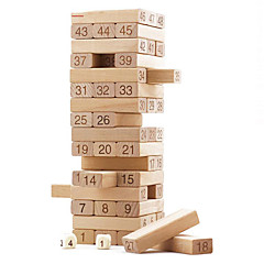 Bausteine Bretsspiele Bildungsspielsachen Stapelspiele Spielzeuge Rechteckig Quadratisch Stücke Jungen Mädchen Geschenk