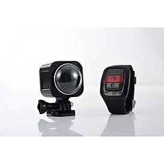 360 panorámás mozgókamera ultra hd 4k digitális fényképezőgép csupasz fém vízálló wifi távirányítóval