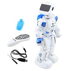 baratos -RC Robot Eletrônica Kids ' Infravermelho Polietileno Disparando / Dançando / Caminhada Não