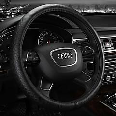 billige Rattovertrekk til bilen-Rattovertrekk til bilen Lær 38 cm Beige / Grå / kaffe For Audi A4L / Q5 / Q7 Alle år