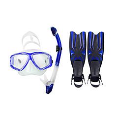 baratos -pacotes de snorkeling mergulho alas mergulhadores de mergulho pacotes de mergulho snorkels mergulho a prova de água / snorkeling natação