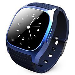 preiswerte -M26 Bluetooth Handgelenk Smartwatch wasserdichte Smartwatch Anruf Musik Schrittzähler Fitness-Tracker für Android Smartphone