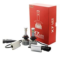 baratos -joyshine x7-9006 (hb4) lâmpadas de faróis dianteiros 80w 7200lm feixe de estilo arco ultra 6000k (2pcs)