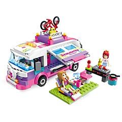 ENLIGHTEN אבני בניין צעצועים מכונית רומנטיקה אופנה עשה זאת בעצמך קלסי אופנה מבוגרים בנות 319 חתיכות