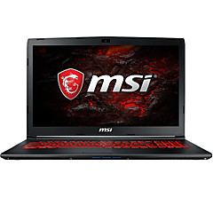 "MSI Laptop 15,6"" Intel i7 Quad Core 8GB RAM 1TB 128GB SSD Festplatte Microsoft Windows 10 GTX1060 6GB"