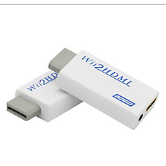 wii til HDMI konverter adapter wii2 hdmi 3,5 mm audio boks wii-link