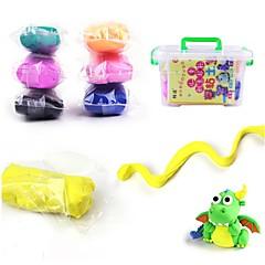 Süper Işık Kil Eğitici Oyuncak Macunlar Oyuncaklar 12 Renk Oyuncaklar Yenilik Arkadaşlar Doğumgünü Kendin-Yap Yeni Dizayn Erkekler Kızlar