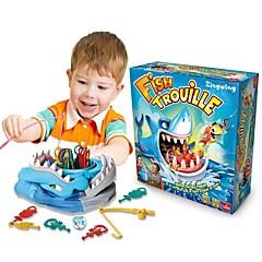 Fish Trouille Pöytäpelit kalastus Lelut Tricky Toys Lelut Shark Family Isyys interaktiivinen Lasten Lapset 1 Pieces