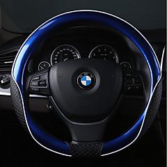 billige Rattovertrekk til bilen-Rattovertrekk til bilen Lær 38 cm Rød / Rosa / Blå For BMW Alle Modeller Alle år