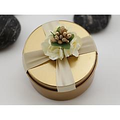 baratos Suporte para Lembrancinhas-Cilindro Ferro (niquelado) Suportes para Lembrancinhas Com Jarros e Garrafas para Doces Caixas de Presente