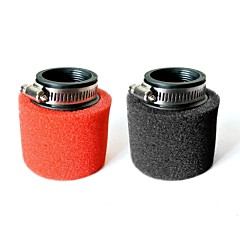 45MM Foam Air Filter For 150 160 200 250cc Honda ATV Motocross Dirt Pit Bike