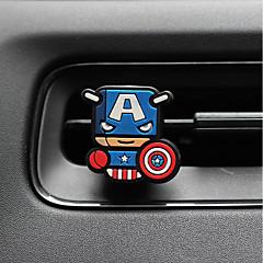 billiga Luftrenare till bilen-bil parfym ornament superman kreativ tecknad silikon metall material bil luftrenare