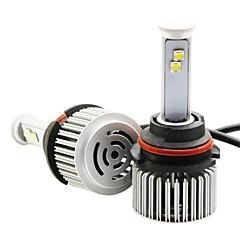 저렴한 -joyshine 9007 모터사이클 전구 120W W 통합 LED 9600lm lm 8 헤드램프