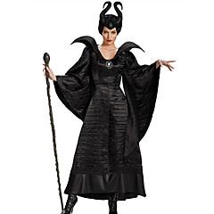 Χαμηλού Κόστους -Μάγος Παραμυθιού Στολές Ηρώων Στολές Ηρώων Κοστούμι πάρτι Γυναικεία Halloween Απόκριες Γιορτές / Διακοπές Κοστούμια Halloween Μαύρο