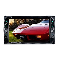 cheap -6.2 Inch 2 Din Car DVD Auto Video Player Stereo Video Touch Screen Bluetooth Handfree Call SD USB FM Radio Virtual TV Tuner
