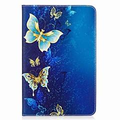 povoljno -leptir uzorak kartica držač novčanik sa stalak flip magnetska pu kožna torbica za samsung galaksiju tab a 8.0 t350 t355 8.0 inčni tablet