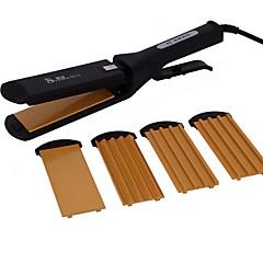 cheap Personal Care Electronics-YAOFA-5516 Splint Hair Straightener Hair Curl Artifact Multi - functional Straight Hair Corn Plywood perm
