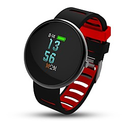 billige Smartklokker-Smart armbånd i10 for iOS / Android Blodtrykksmåling / Kalorier brent / Trenings logg / Distanse måling / Pedometere Pedometer / Samtalepåminnelse / Søvnmonitor / Stillesittende sittende Påminnelse