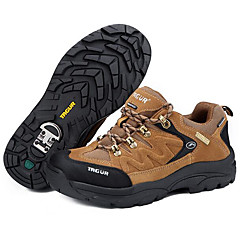 נעלי ריצה נעלי הרים בגדי ריקוד גברים נגד החלקה מוגן מגשם לביש נשימה ספורט פנאי סוליה נמוכה סוויד עור גומי צעידה ריצה