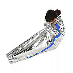 Cobertor de Emergência retenção de calor Isolamento térmico Dobrável EVA 10 Campismo / Escursão / Espeleologismo Acampar e Caminhar Todas
