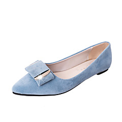 Women's Shoes PU Spring Summer Comfort Sandals Low Heel Round Toe For Dress Black Gray Blue Pink