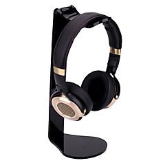 tanie Akcesoria do słuchawek-miimall uniwersalny zestaw słuchawkowy stand akryl l-kształt uchwyt słuchawek uchwyt stojak na słuchawki dla telefonu samsung samsung