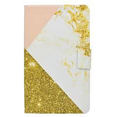marmor mønster kortholder med stativ flip magnetisk pu lærveske til Samsung Galaxy Tab 4 t330 t331 8,0 tommers tablet pc