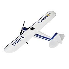 """RC מטוס V765-2 4CH 2.4G ק""""מ / ח יש צורך בהרכבה חשמלי עם מברשת"""