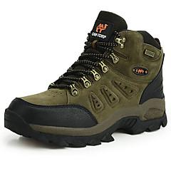 Tênis de Corrida Sapatos de Montanhismo Homens Anti-Escorregar Á Prova-de-Chuva Vestível Respirabilidade Esportes Relaxantes Cano Alto