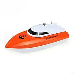 """RC סירה WL Toys HY802Orange 4 ערוצים 20 ק""""מ / ח RTR"""