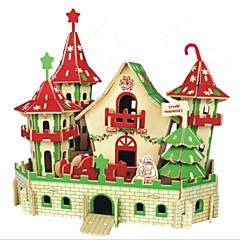 DIY KIT 3D Puzzles Jigsaw Puzzle Logic & Puzzle Toys Toys Castle Animals 3D Houses Fashion Kids Hot Sale Classic Fashion New Design Kids 1