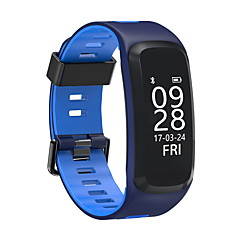 Smart Bracelet Heart Rate Monitor Water Resistant / Water Proof Pedometers Blood Pressure Measurement Long Standby Multifunction