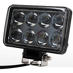 tanie Oświetlenie pomocnicze-2szt Żarówki 80 W Wysoka wydajność LED 8000 lm 8 Reflektor Na Univerzál Wszystkie modele Wszystkie roczniki