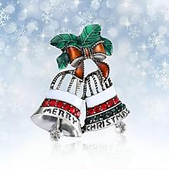 Dames Broches Bergkristal Eenvoudig Elegant Strass Legering Sieraden Sieraden Voor Kerstmis
