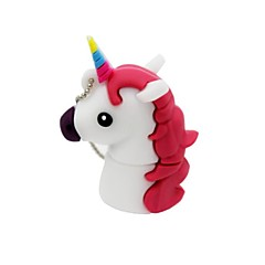 4gb usb 2.0 desene animate unicorn horse usb flash drive disc drăguț stick de memorie stilou unitate pen drive