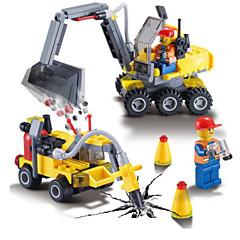 Rakennuspalikat Kaivurikuormaaja Kaivuri Lelut Ajoneuvot Pojat Poikien 192 Pieces