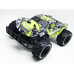 billige Fjernstyrte biler-Radiostyrt Bil QY1841B 2.4G Høyhastighet 4WD Driftbil Buggy (Off- Road) Racerbil 1:12 * KM / H Fjernkontroll Oppladbar Elektrisk