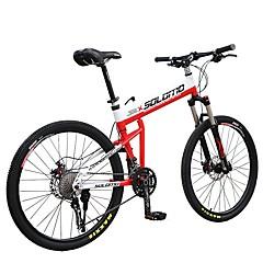 אופני הרים רכיבת אופניים 30 מהיר 700CC/26 אינץ' MICROSHIFT 24 דיסק בלימה שמן מזלג שיכוך קיפול סגסוגת אלומיניום Aluminum Alloy