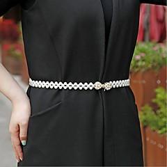 perle bryllupsdag sashes med rhinestone elegant klassisk stil