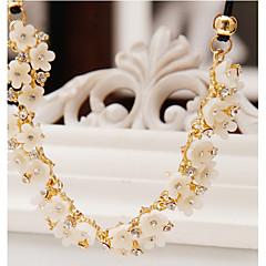 cheap Necklaces-Women's Statement Necklace - White Necklace For Party, Daily
