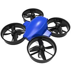 billige Fjernstyrte quadcoptere og multirotorer-RC Drone DM107S 4 Kanaler 6 Akse 2.4G Fjernstyrt quadkopter LED Lys / Auto-Takeoff / Hodeløs Modus Fjernstyrt Quadkopter / Fjernkontroll