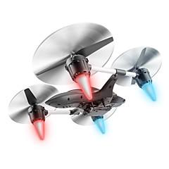billige Fjernstyrte quadcoptere og multirotorer-RC Drone W606-7 4 Kanaler 6 Akse 2.4G Med 0.3MP HD-kamera Fjernstyrt quadkopter Fremover bakover En Tast For Retur Auto-Takeoff Hodeløs